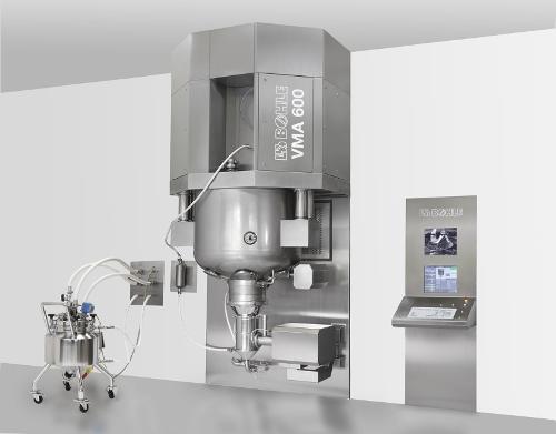 Single-pot Granulation – Vma