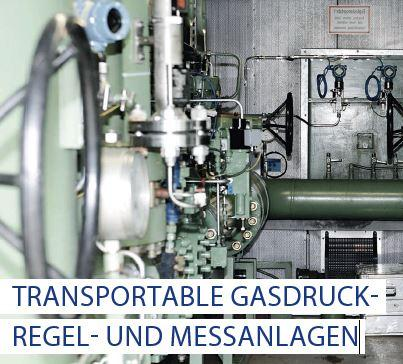 Transportable Gasdruck-Regel- und Messanlagen