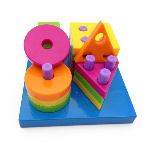 Shape sorting board toys for kids