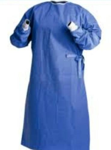 isolation gown 40g Blue SMS Surgical Suit Disposable gown
