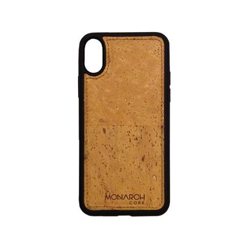 iPhone X/XS Cork Phone Case – Natural