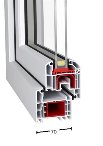 PVC Windows |  Id 4000-70