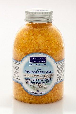 Dead Sea Bath Salt – Vanilla