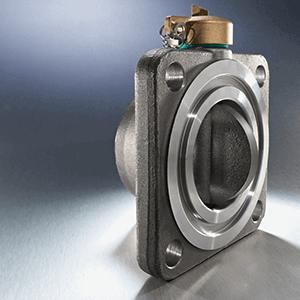 Radiator butterfly valve welding neck for transformers