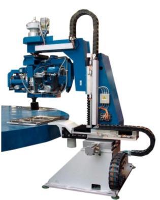 ALPHA CNC bowl polishing machine tool