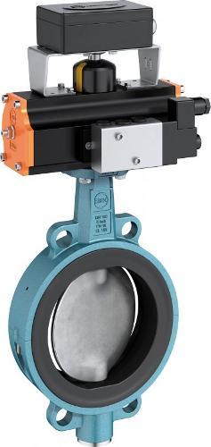 Válvula de cierre y control tipo Z 611-A
