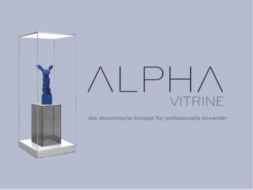 ALPHA VITRINE - Glasvitrine