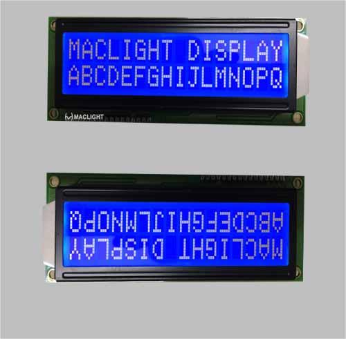16X2 Character LCD Module Display Yellow Green Background