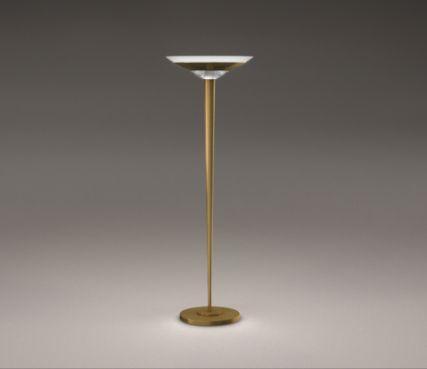 French art deco floor lamp