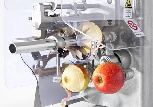 Machine de traitement des pommes
