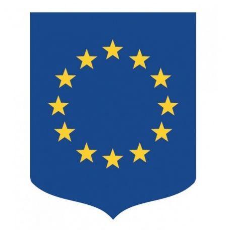 Écusson Porte-drapeaux Union Européenne Gamme Éco