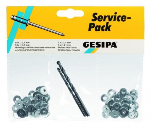 Paquete de servicio (remaches ciegos)