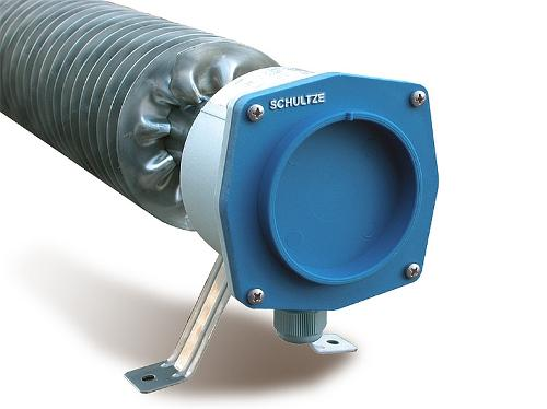 Finned Tube Heater w/ low surface temperature