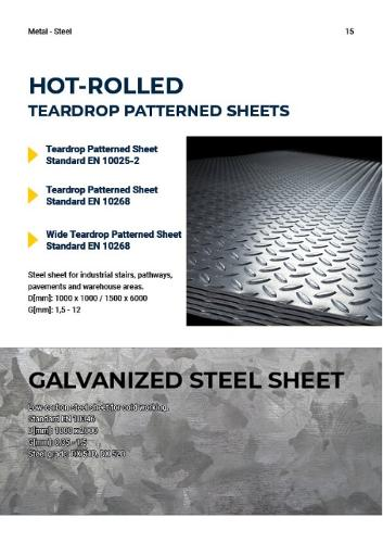 Hot Dipped Galvanized Flat Steels
