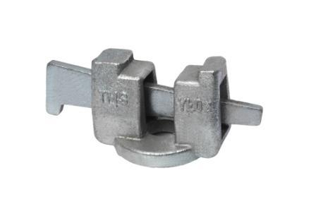 Ring Lock Ledger End with Wedge
