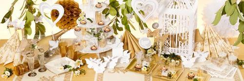Hochzeitsdeko von Partydeko4U