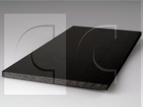 Carbon Platte 10mm / CFK Epoxy Laminat