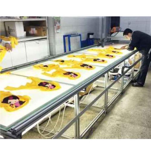 Konfektion und Druckerei von Textilien
