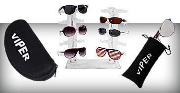 Verkaufshilfen und POS Displays für Sonnenbrillen