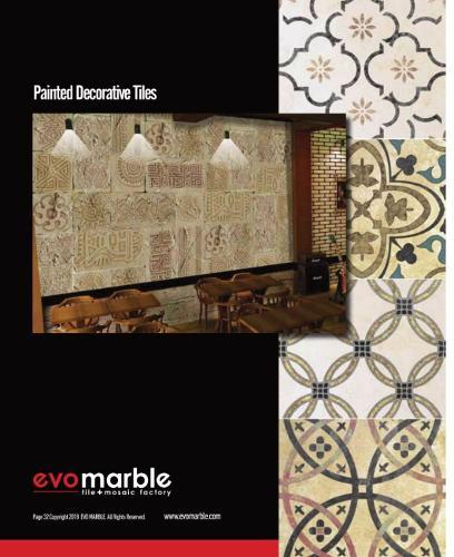 Painted Decorative Tiles