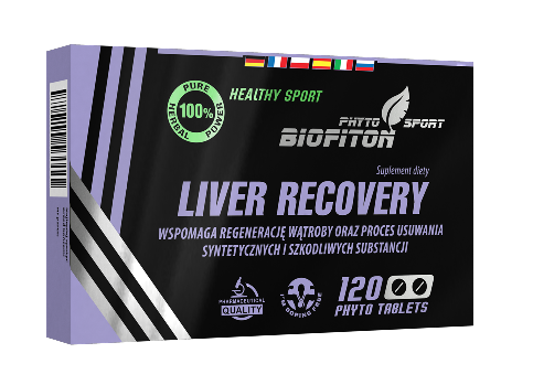 Biofiton Liver Recovery - 100% Naturalny Suplement Ziołowy