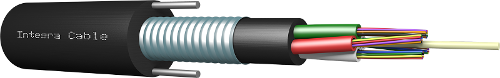 A-DQ2Y(SR)2Y / IKC-M - optical fiber cable for duct installation
