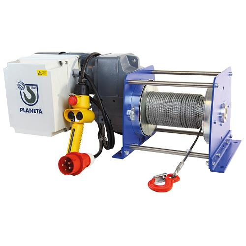 Electric rope winch PFW-C
