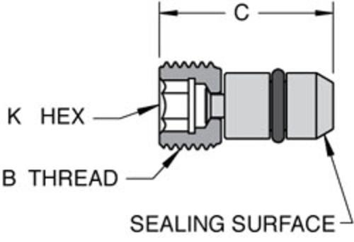 NACE Compliant Dual Sealing AFO Plug