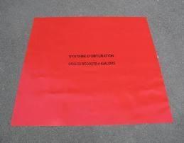 Protection égout PVC anti-pollution - équipement ADR