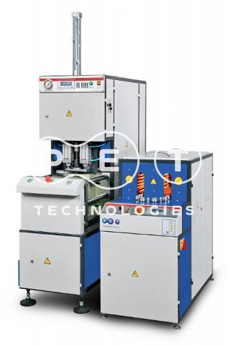 Semi automatic blow molding machine UPF-5