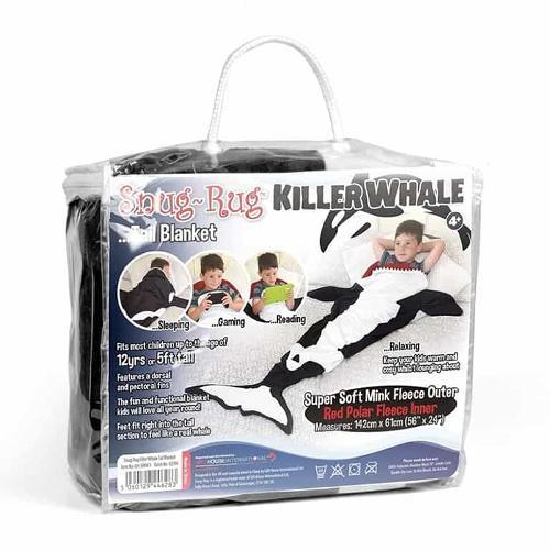 Snug Rug Kids Killer Whale Tail Blanket
