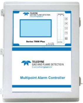 Multichannel gas & flame monitoring system