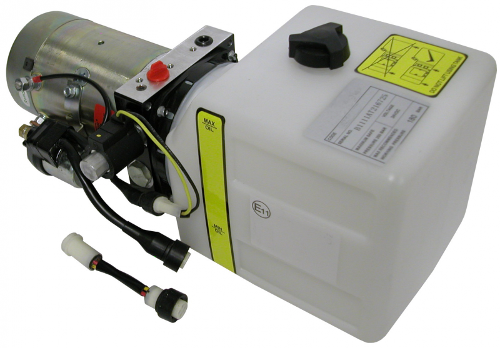 Hydro-24V/3,1 ccm/4,7L 180 Bar power pac