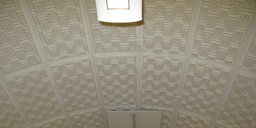 Lightweight foam sound absorbing panels