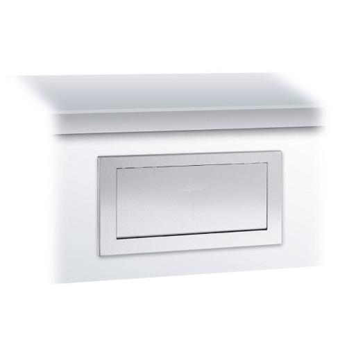 Wp135 Disposal Flap W/mounting Frame Satin
