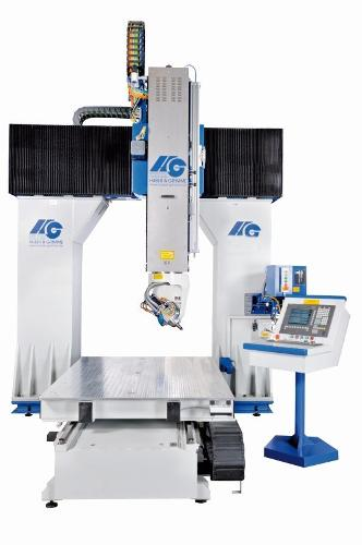 HG 5-Achsen-Universalfräsanlage P-S-F(15-13)/M