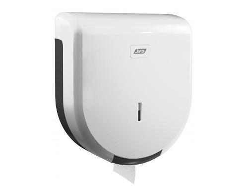 Dérouleur papier toilette mural blanc pour bobine maxi...