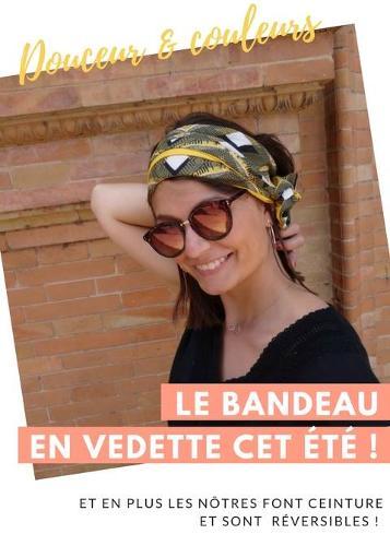 Bandeau (headband) rigide modelable en ceinture