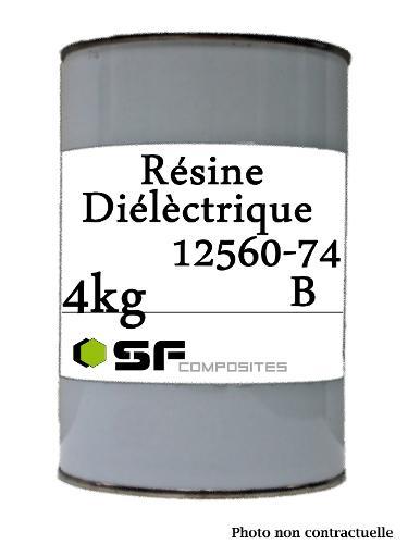 RESINE DIELECTRIQUE 12560 4KG