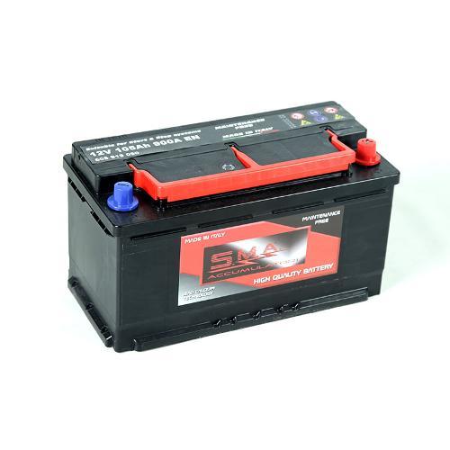 Batterie de démarrage pour voiture et véhicule léger 105 ah