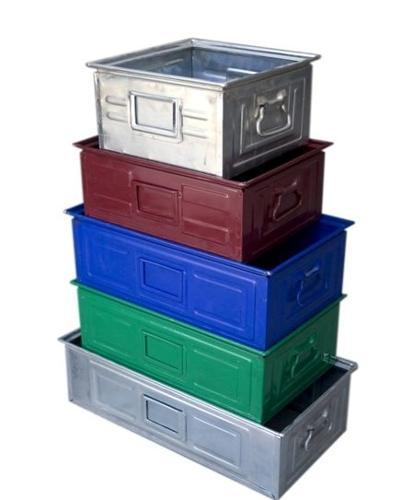Stacking Metal Boxes