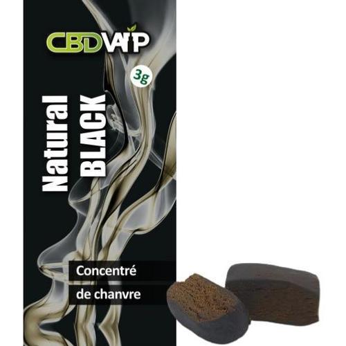 Résine Cbd Natural Black 20% - 3g - Spectre Complet