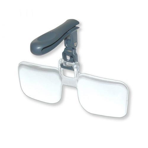 Clip & Flip – The hands free magnifier