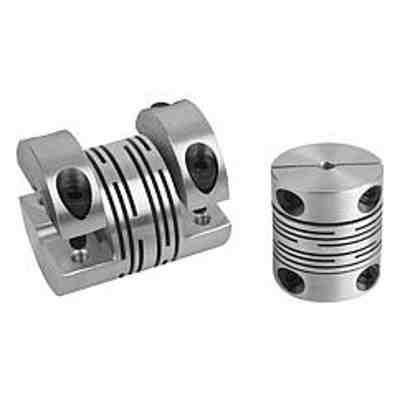 Accouplement à moyeux de serrage démontables, aluminium