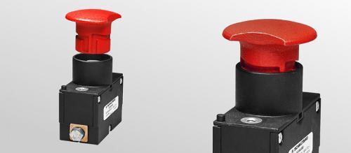 Einpoliger Notabschalter für Flurförderzeuge