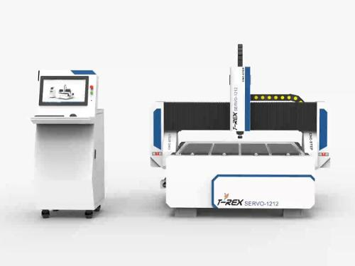 Servo motors Portal Milling Machine T-Rex Servo1212 Router