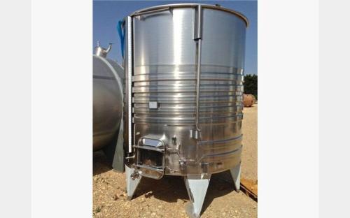 304 Stainless Steel Tank - Spaipser7500b - 03/21-2