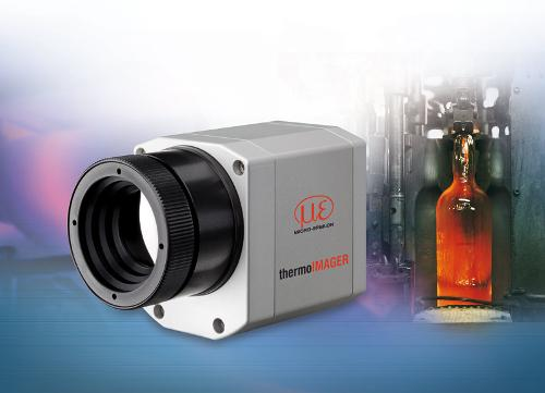 Thermal imager for glass industry
