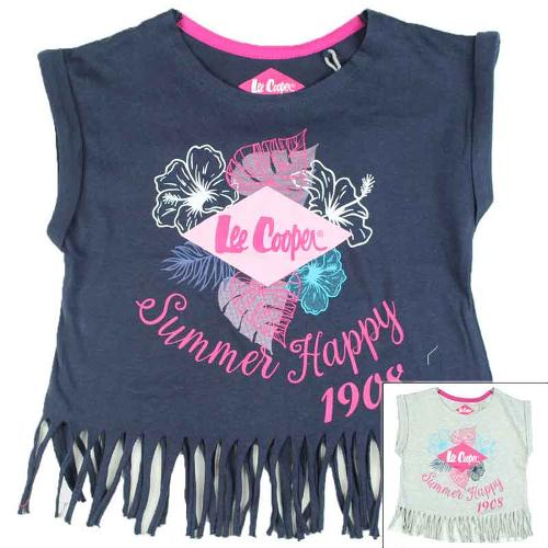 Wholesaler clothes kids T-shirt licenced Lee Cooper