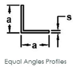 Equal Angles Profiles ( Any Surface)